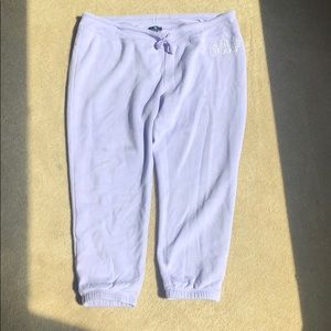 Purple GAP joggers or sweatpants